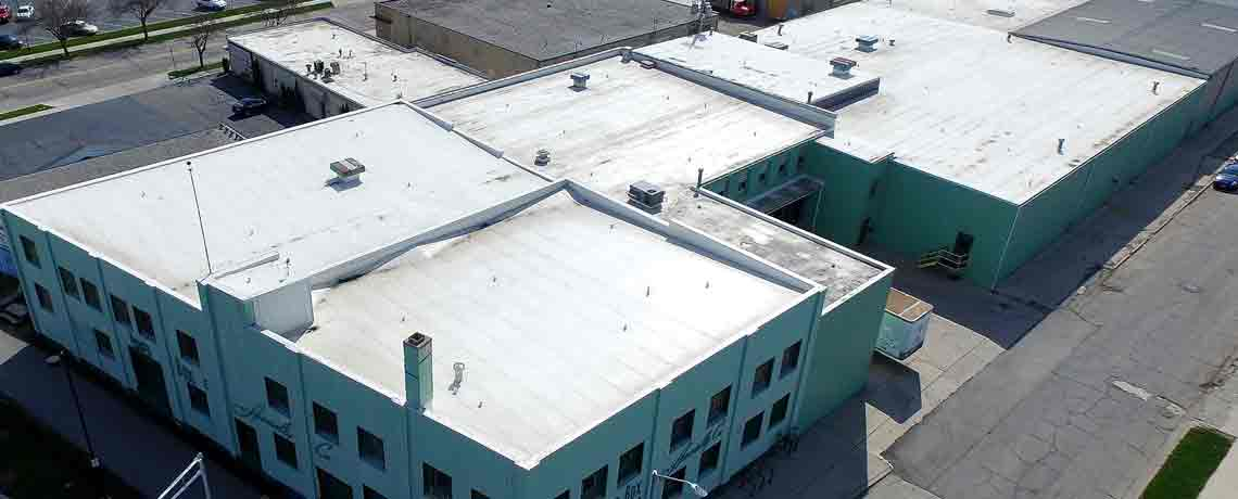 Commerical Reroofing Project