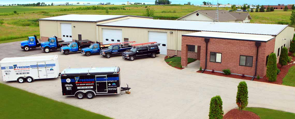 Precision Roofing Wisconsin Commercial And Industrial Roofer