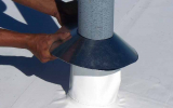 Pipe Flashing Installation