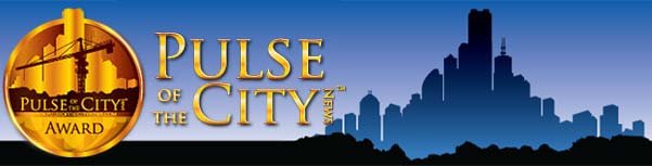 Pulse of the City Award presented to Precision Roofing