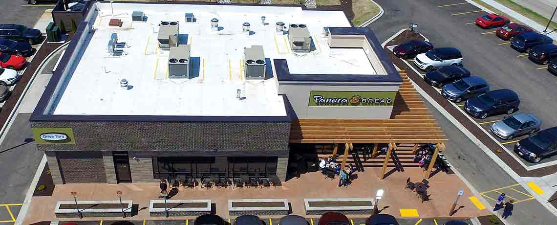 Panera Bread Roofing Project
